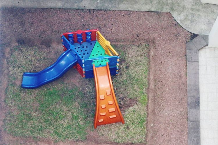 A Bird's Eye View Kinder Park Kinder play place Colors From Above  From 7vent Floor Playground Equipment in CanoasRS