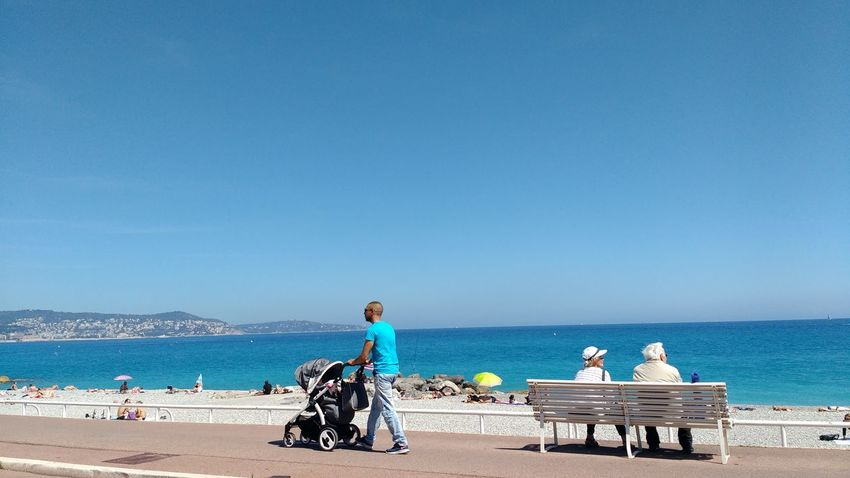 Beach Clouds France France Sud Mountains Nice Outdoors Promenade Des Anglais Sky South Of France Sunny Travel Travel Destinations Travel Photography
