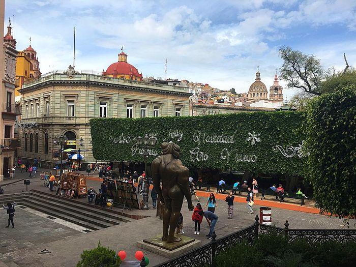 Guanajuato desde el teatro Juarez Guanajuato, México Guanajuato Day City Urban Garden Tree