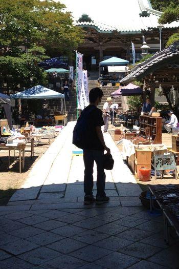 骨董市 Nippon 夏 Antiques Shrine
