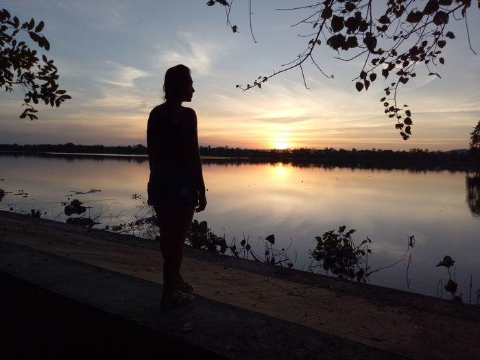 now! sun set