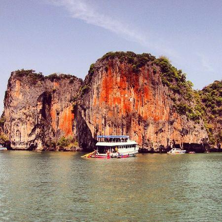 Gfd_travel Gf_daily Global_family Pangnga thailand valencia boats beautifullandscapesforeveryone naturestylesgf natgeotravelpic travel_magazine