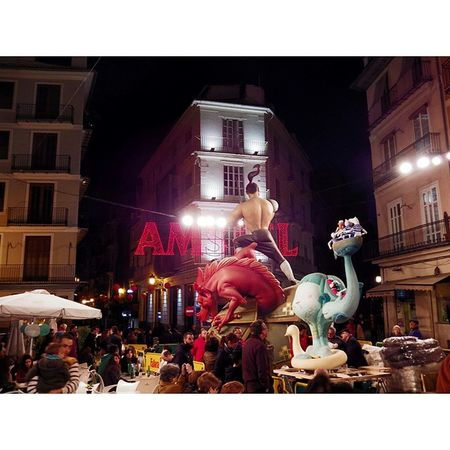 Ambientazo Plaza del Tossal Fallas Fallas2015 valencia