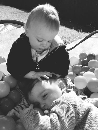 Baby Love ♥ Blackandwhite EyeEm Best Shots - Black + White EyeEm Best Shots Twins