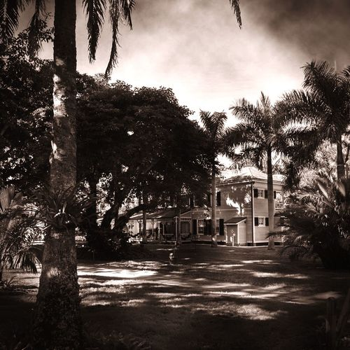 Time for some Monochrome ! ◾️ Vacation in Fort Myers , Thomas Edison Winter Residence, Florida , USA ?? Tadaa Community Tadaa