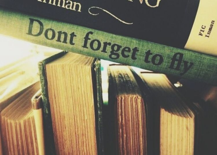 NeverForget to Fly Book