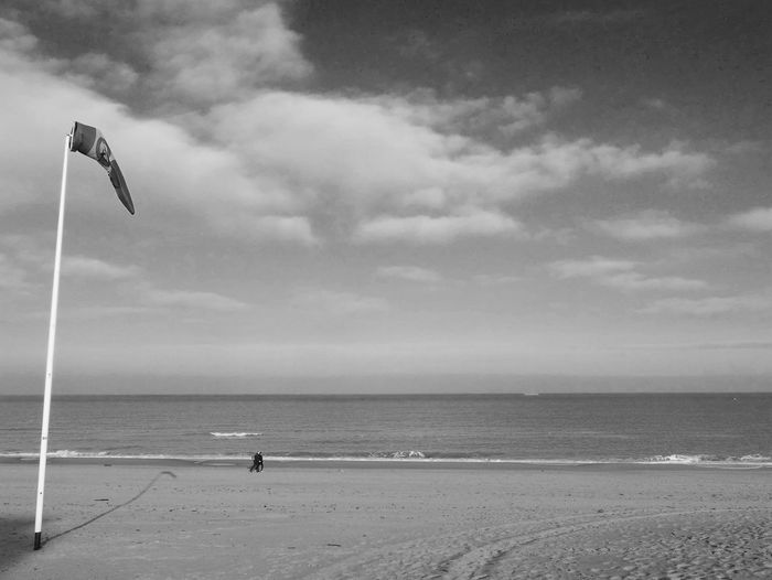 Sea Beach Sky Horizon Over Water Water Cloud - Sky Sand Nature Scenics Beauty In Nature Tranquil Scene Outdoors Day Tranquility Monochrome Monochrome Photography EyeEm Best Shots - Black + White Outdoor Photography Landscape Waterfront Sand & Sea Seascape Horizon Over Sea Seaside Wide Open Spaces