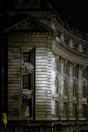 Building near the National Gallery in London. Arch Architecture Building Exterior Built Structure Day Leicax2 London Nightphotography No People Outdoors