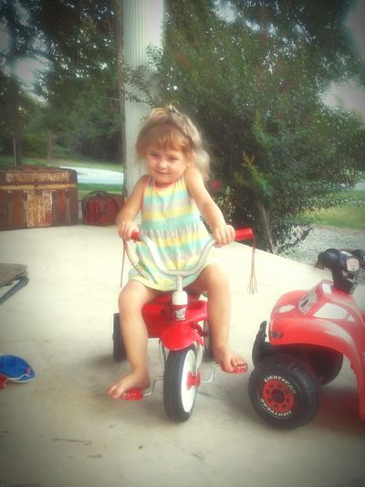 Barefoot Pretty♡ Tricycle 3 year old sassy princess