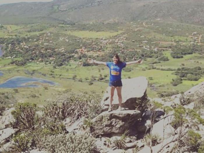 Parece uma pintura, mais e os encantos de Minas Gerais Serradocipo EncantosdeMinas