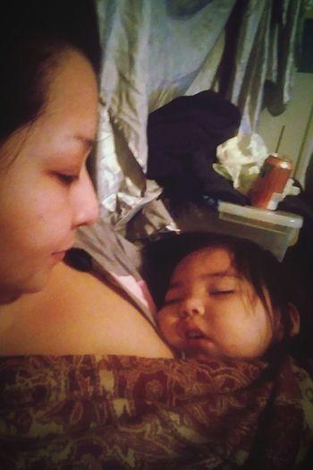 Quiet Moments Peaceful Nap A Mother's Joy