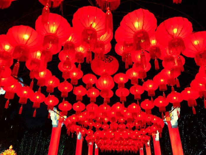 Chinese Lantern Chinese Lantern Festival Illuminated Traditional Festival Celebration