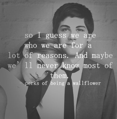 Quotes Emma Watson The Perks Of Being A Wallflower Logan Lerman
