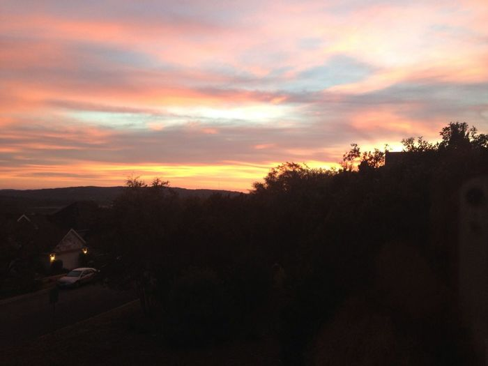 sunrise from my house.