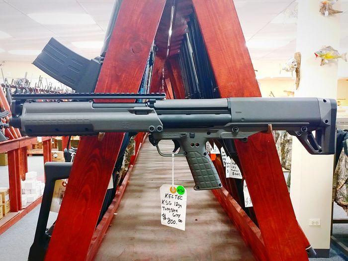 KSG Shotgun Bullet Shell Slug Pump Gun New Modern EyeEmNewHere Gun Shop Guns
