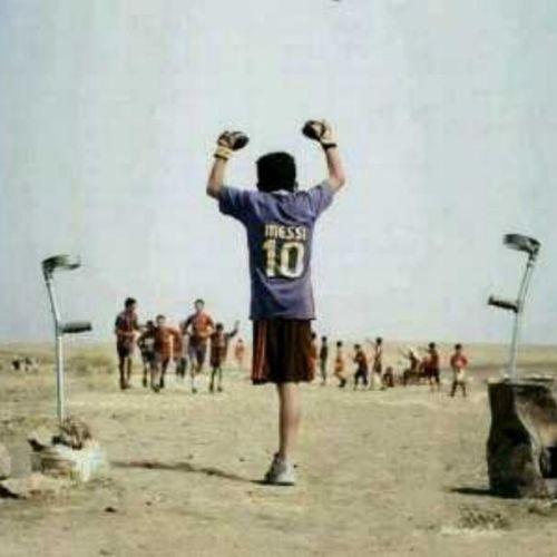 Stand by you Messifans Respect @leomessi :')