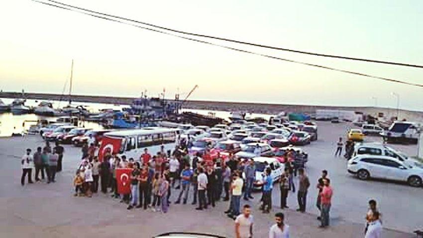 şehitler ölmez Vatan Bölünmez Zonguldak Kozlu Sahili