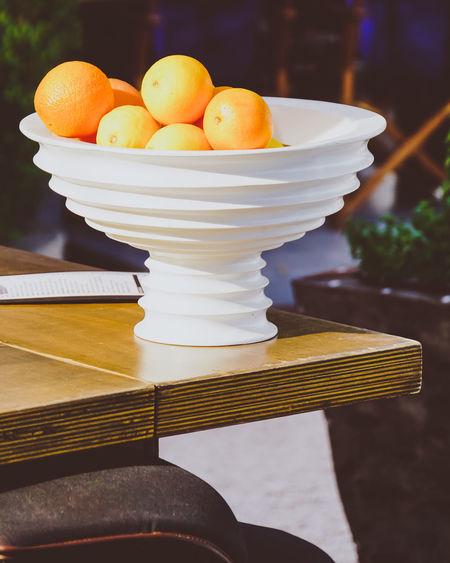 Fruit bowl Bowl Close-up Croatia Day Eating Freshness Fruit Indoors  Korčula No People Orange Oranges