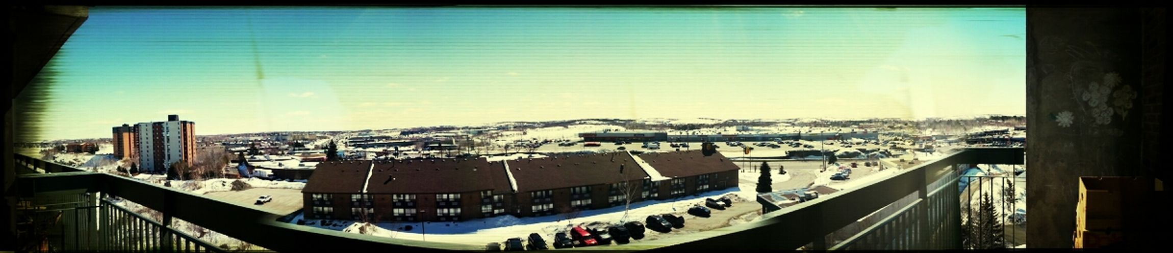 View from the new apartment, loving every second of it! ThisIsCanada Enjoying Life Outside Myview