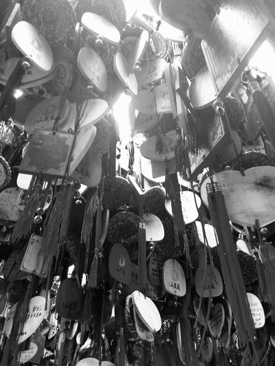 Chinese Wishing Tree at Phoenix Mountain in Baoan - Shenzhen, China Wishes Wish Tree China Traditional Culture Wishing Tree Shenzhen Buddhism Mountain Chinese Buddhist Temple BaoAn Temple Phoenix Mountain Tree Traditional Chinese Chinese Culture Chinese Style Traditionally Chinese Hanging Black And White