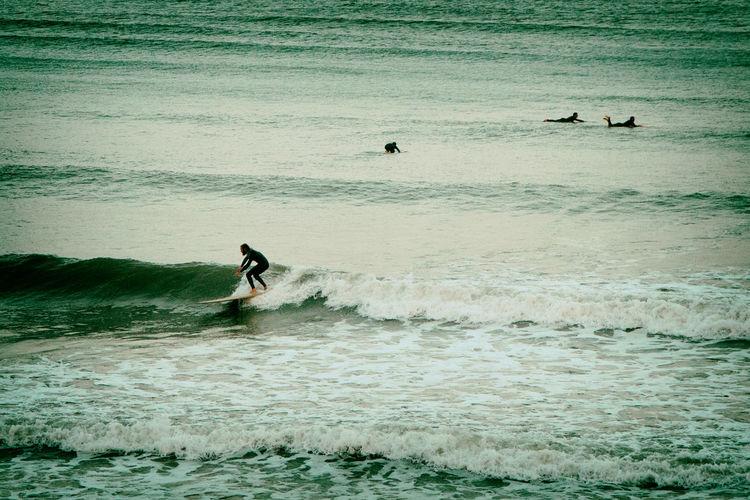 Surfing Sea