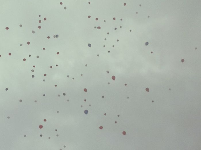 Fly High Balloons🎈 Graduation Ceremony Colorful Sky