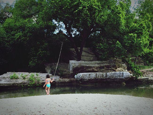 Children On A Hike Summer OpenEdit Modern Father