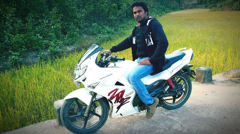 Rajendra S. Jangde Nick Name Raj Phuthamuda Spot Returning Home