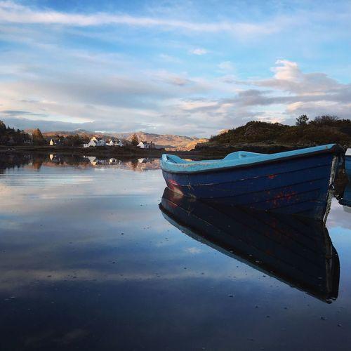Plockton Scotland VisitScotland ILoveScotland Boat Reflection Reflections In The Water Watermirror Mytinyatlas