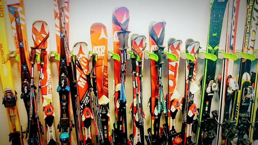 Pisten-Präparation. Large Group Of Objects No People Ski Holiday Skiing ❄ Piste Da Sci Piste Brettspiel Brettlzeit