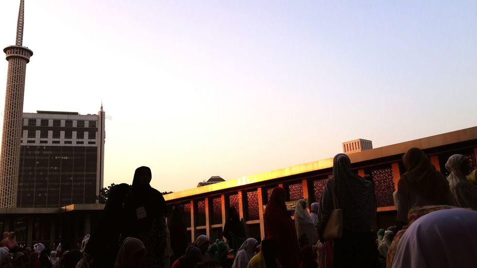 Iduladha Morning Sunshine Masjid Istiqlal 2015
