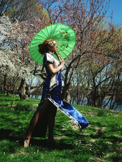 My Unique Style Sakura Trees Asian Dress Costume Taken by Curt Russell