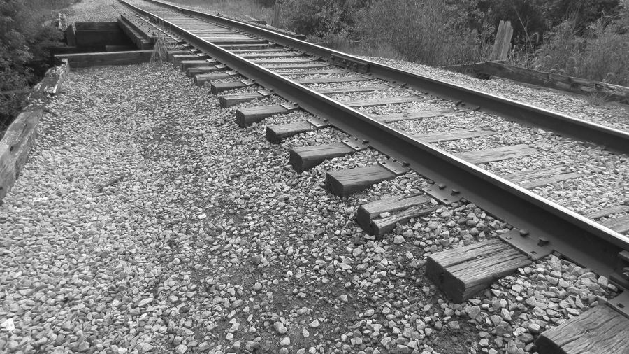 Out Walking Black And White Photography Crossed The Tracks Leads To Nowhere Alone... Cadillac Trail Pure Michigan