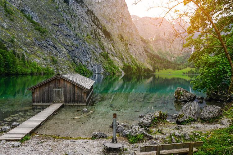 Obersee lake,