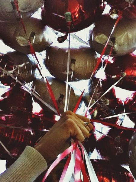 ? Balloons ..y salir volando!