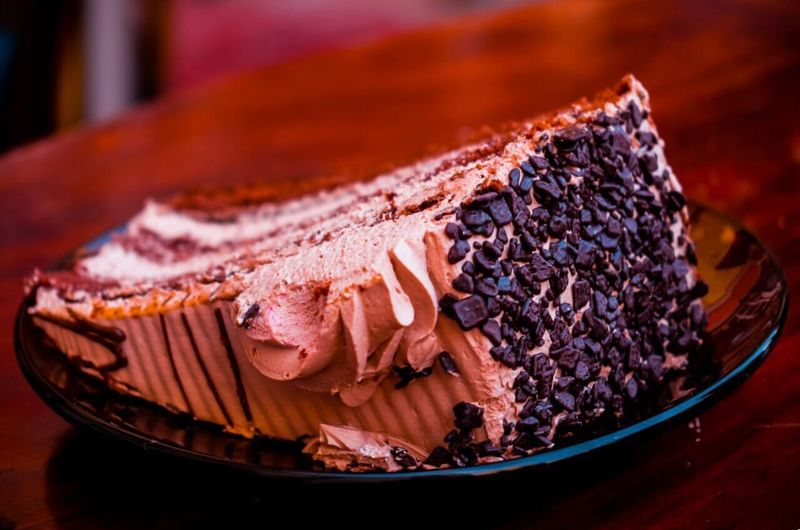 Food Food And Drink Dessert Cake Sweet Food Ready-to-eat Chocolate Chocolate♡ Chocolatecake Chocolate Cakes Davortakic Plate Sweet Sweets EyeEm Gallery Foodphotography