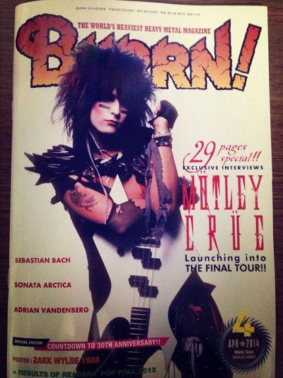 BURRN! Rock Rock'n'Roll Mötley Crüe