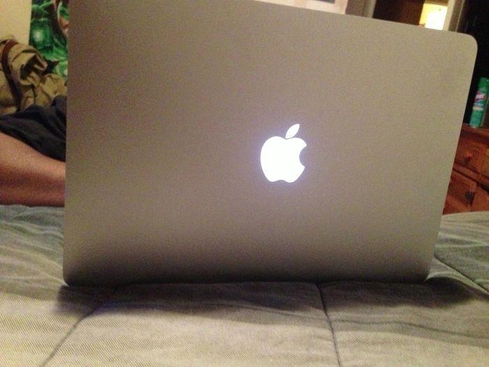 On The MacBook