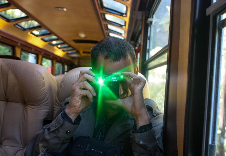 Bus Casual Clothing Illuminated Journey Leisure Activity Lifestyles Mode Of Transport Part Of Passenger Public Transportation Train - Vehicle Unrecognizable Person Vehicle Interior Vehicle Seat