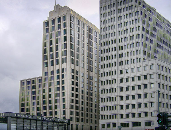 Architecture Architecture Architektur Architettura Berlin Berlino Building Exterior Building Story Built Structure City City Life Day Deutschland Germania Germany Low Angle View Modern No People Office Building Exterior Outdoors Potsdamer Platz Sky Skyscraper Tall Tower