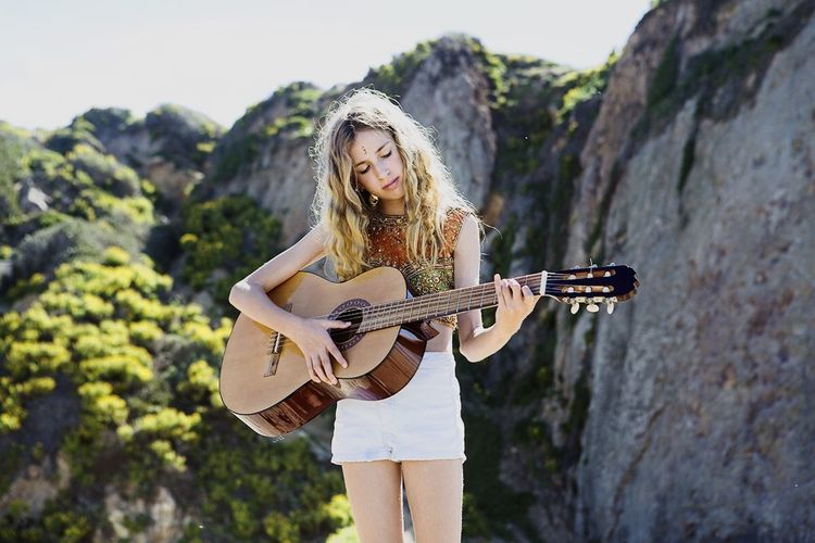 Singer  Open Edit Malibu Trinity Rose is a great singer. I did the cover for her new EP on Westward Beach Growing Better