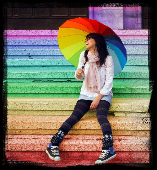 colours Colors Smile Enjoying Life Girls