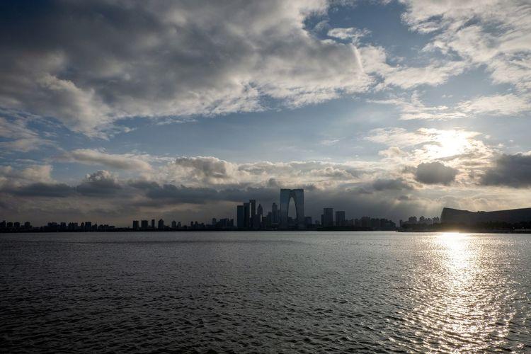金鸡湖 Cloud - Sky