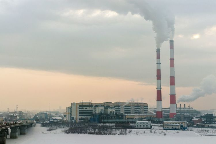 Cloud generators Power Plant Power Plant, Coal Smoke Pipe Pipes Smoke Kemerovo Siberia Russia Cold Weather Landscape Wintertime Siberian Life Cold Temperature Industry Sky Smoke - Physical Structure Smoke Stack Built Structure Smog Winter Building Exterior Factory No People City Outdoors Emitting Fumes