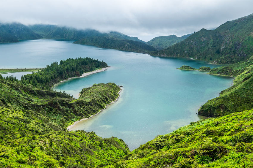 View to Lagoa do Fogo, S. Miguel Island, Azores, Portugal Azores Azores, S. Miguel Great Outdoors Lagoa Do Fogo Lake Lake View Landscape Landscape_Collection Landscape_photography Landscapes The Great Outdoors - 2017 EyeEm Awards