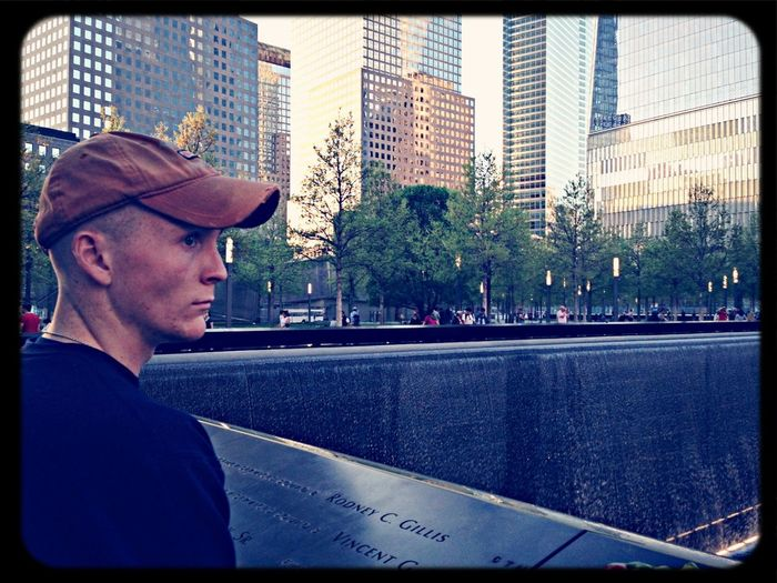 May We Never Forget!!! 9/11 Memorial Reflections Ground Zero 9/11 World Trade Center South Tower First Eyeem Photo
