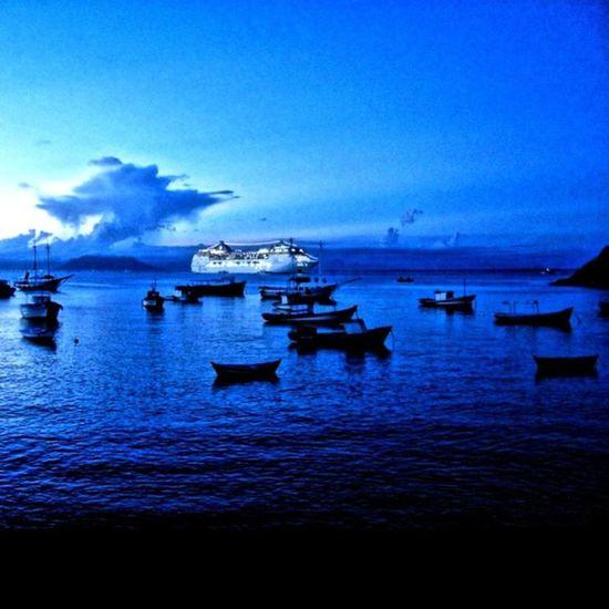 Intense blue series - Brava Hotel -Praia do Canto/Búzios City (Me editing some @rickymedina's old photos) 