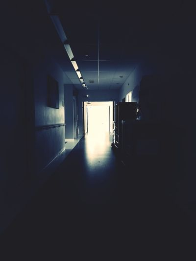 #hospital #emergency Basement Abandoned Built Structure Hallway Tunnel Ceiling Light  Light Fixture