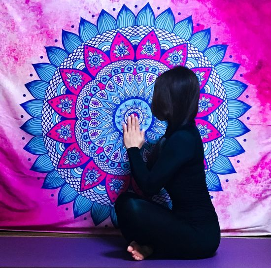 The place where I reset my heart and soul. Confident Women The Portraitist - 2017 EyeEm Awards Place Of Heart One Person Real People Lifestyles Young Women Young Adult Adult Heart Yoga Meditation Retreat Room Yoga Space Siddhi Mandala