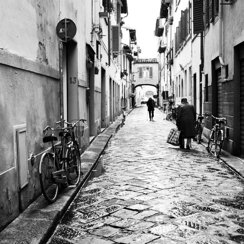 Architecture Street The Way Forward Old Streerphotography Monochrome Photography